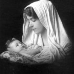 Infant Eloise Santerre Being Held by Mother
