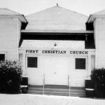 Early Rowlett Christian building