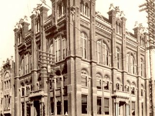 FINE CITY HALL COMPLETED in 1889
