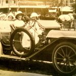 Annie Lofland & Friends in Vintage Auto