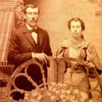 William & Eva Lane Sharp 1895 Photo
