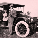John T. Jones and Franklin Car, 1912