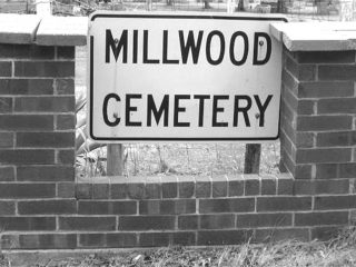 Millwood Cemetery Sign