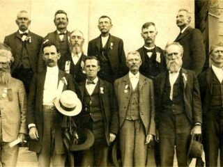 1902 Old Soldiers Reunion
