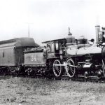 TP Engine at Dallas,1870s