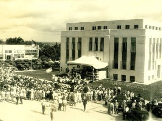 Rockwall Co Courthouse, 1941 Dedication