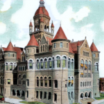 Old Red Courthouse, 1908