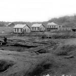 First Housing at Cement City, 1907