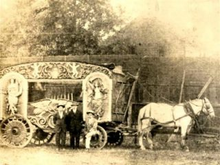 J H Cullom Saw 1st Circus At Forney