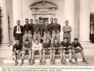 Fighting Garland Owls Football Team, 1927