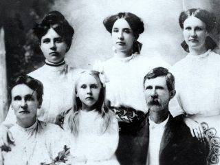 James W. Willeford Family, Abt. 1918