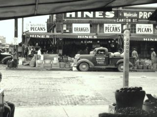 Farmer's Market, Pearl at Canton 1938